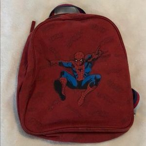 Pottery Barn Kids spider-man backpack